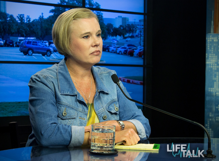 Renee Hobbs, vice-president of Life Dynamics and Co-Host of Life Talk